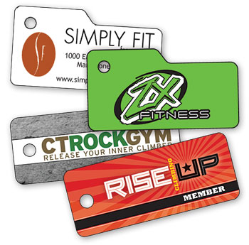 Fitness Key Tags